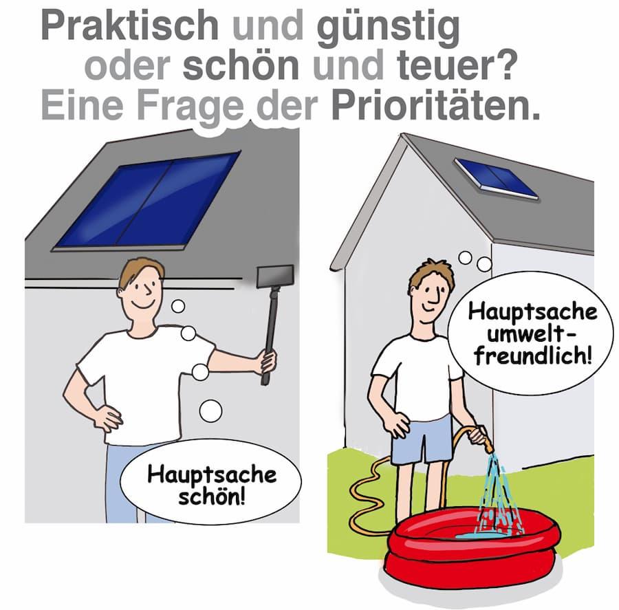 Solarthermie: Aufdach- oder Indach-Montage´
