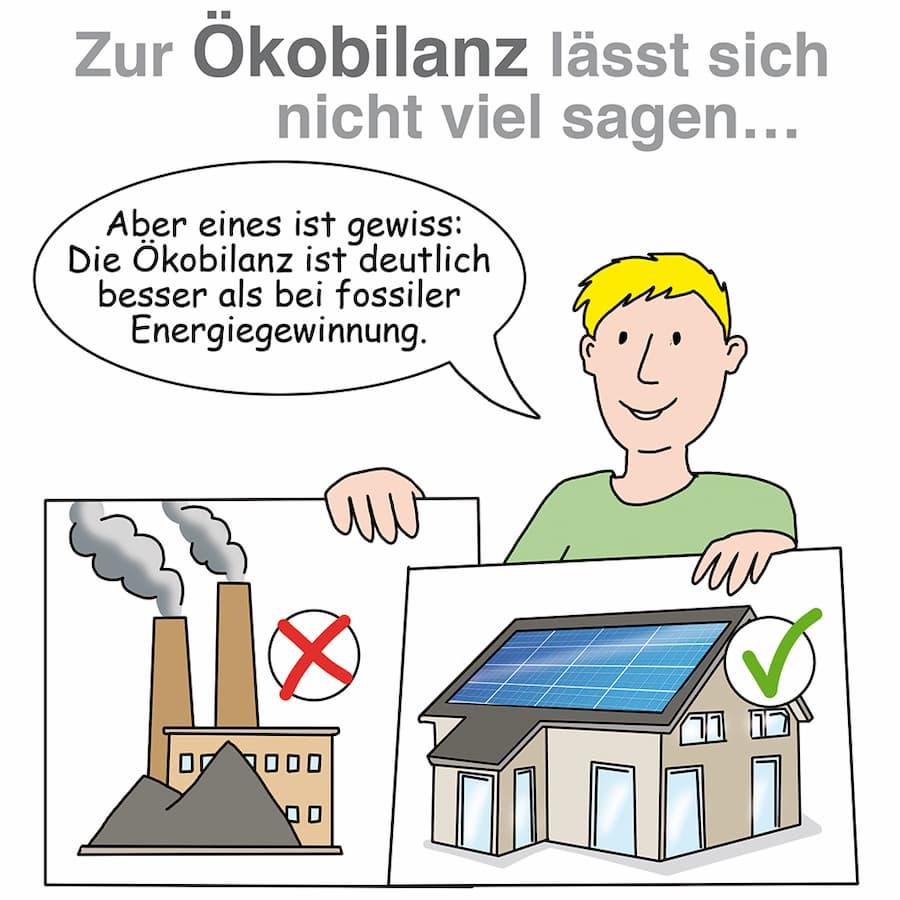 Photovoltaik Ökobilanz: Besser als bei Fossilen Energieträgern