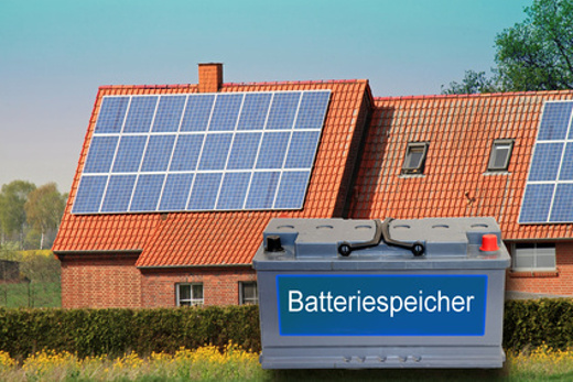 Photovoltaik Strom speichern © mitifoto, fotolia.com