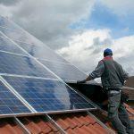 Solaranlage Installation