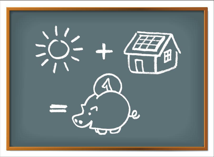 Sparen mit Solarenergie © guukaa, stock.adobe.com