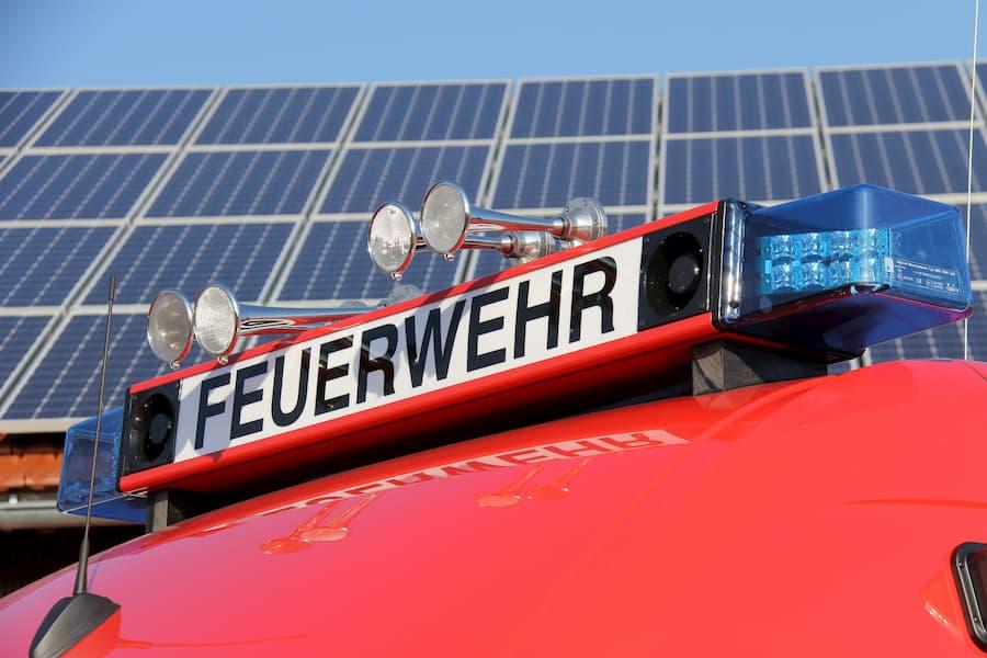 Solaranlagen und Brandgefahr