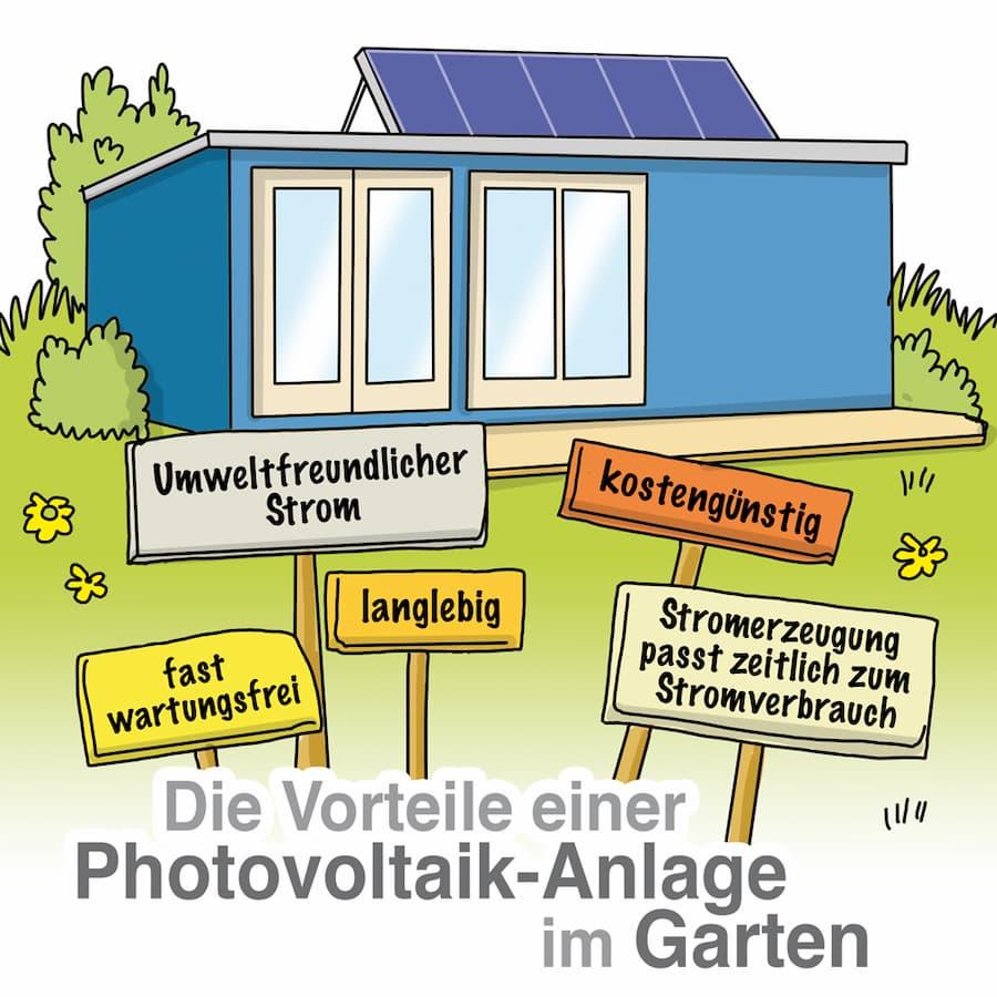 Solaranlage im Garten: Viele Vorteile sprechen dafür