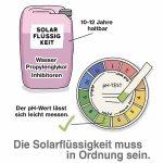 Solarflüssigkeit nachfüllen und austauschen