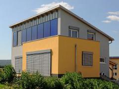 Solarthermie Fassaden