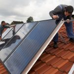 Solarthermie Installation