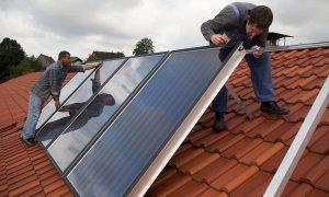 Funktionsweise der Solarthermieanlage