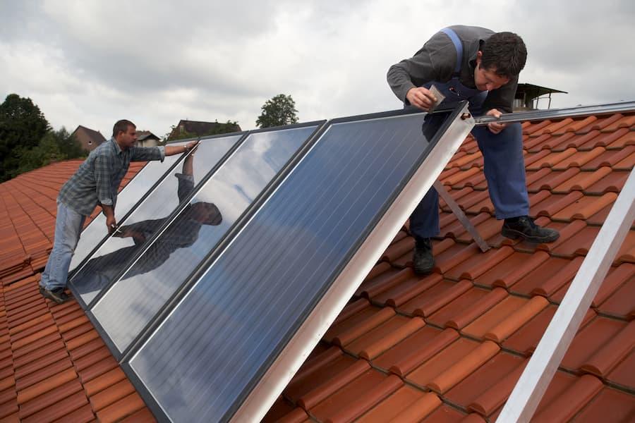 Solarthermie Ausrichtung