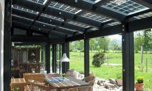 Photovoltaik auf dem Terrassendach